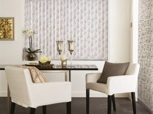 Collina blind in dining room