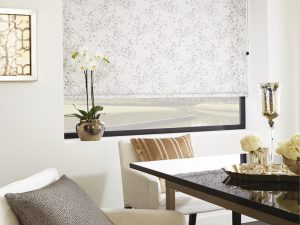 Collina blind in lily pad