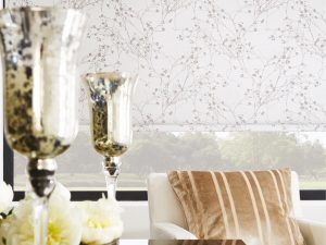Collina Vertical Blind in Antique Gold