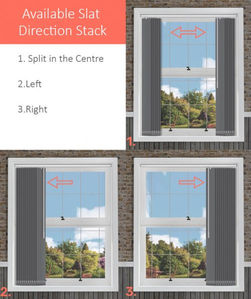 5.Available Slat Direction Stack