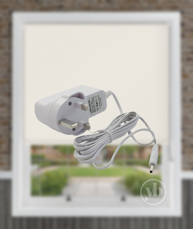 Powershade Roman Motorised Wall Charger