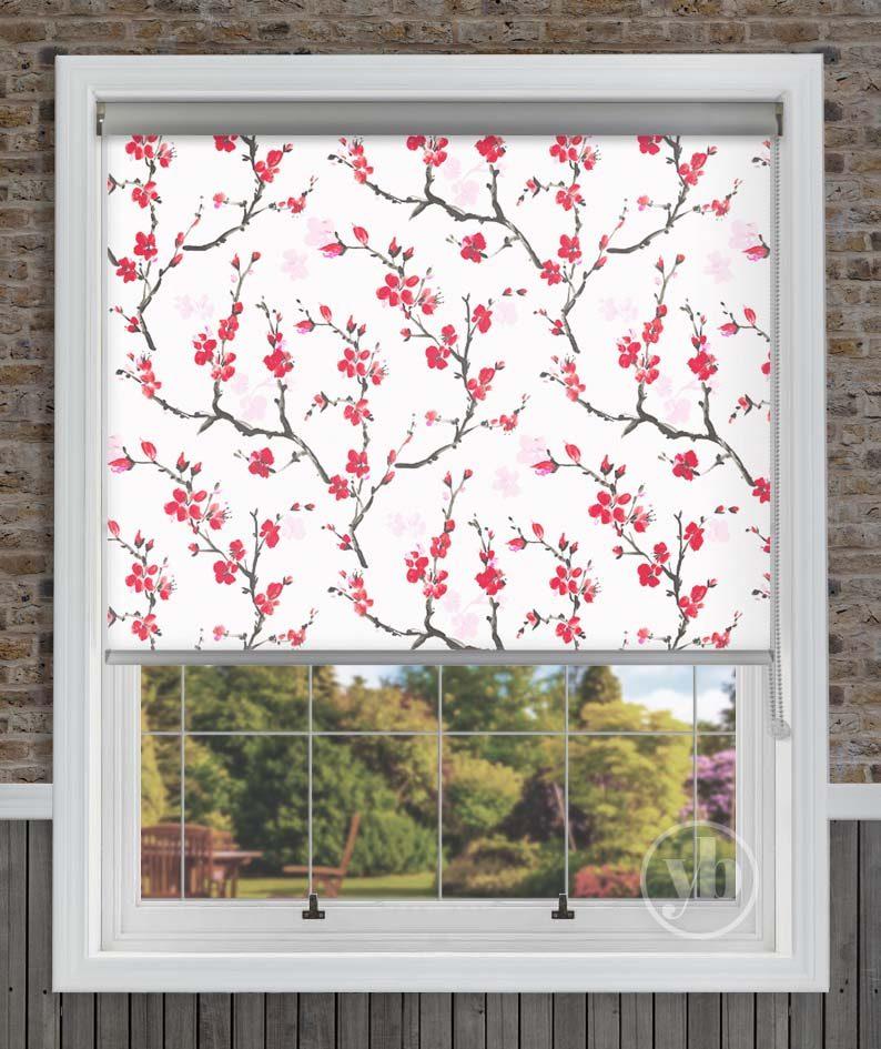 HERO Cherry Blossom Senses Roller Blind